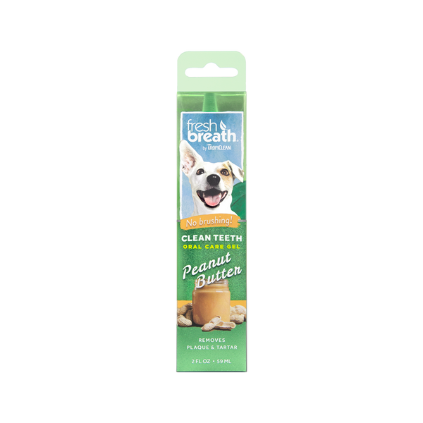 Fresh Breath Oral Gel Peanut Butter, 2oz