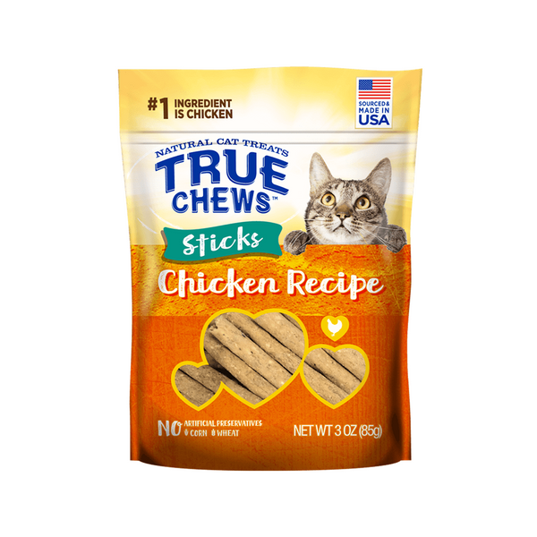 TrueChews Cat Treats - Stick Chicken 3oz