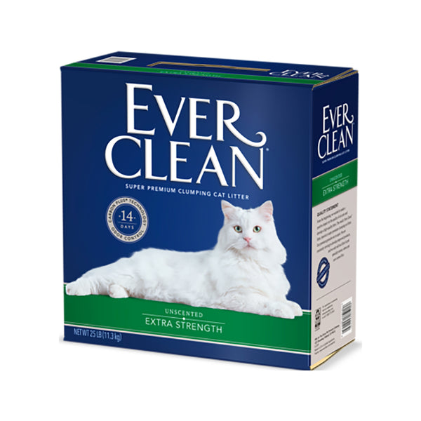 Unscented Extra Strength Cat Litter Weight : 25lb