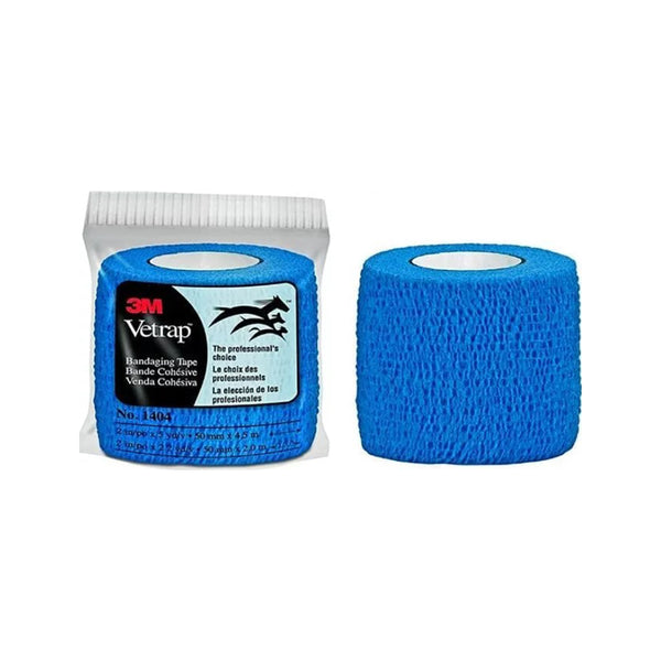 Vetrap Bandaging Tape, Color Blue, 2""
