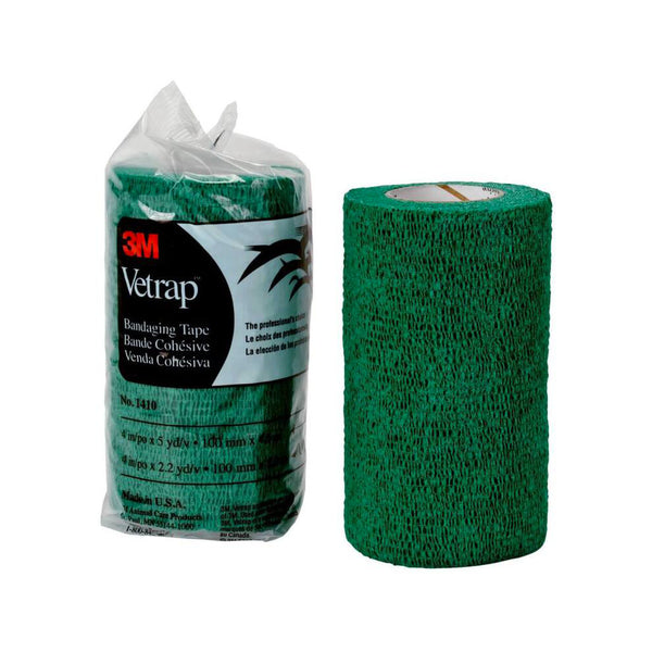 Vetrap Bandaging Tape, Color Green, 4""