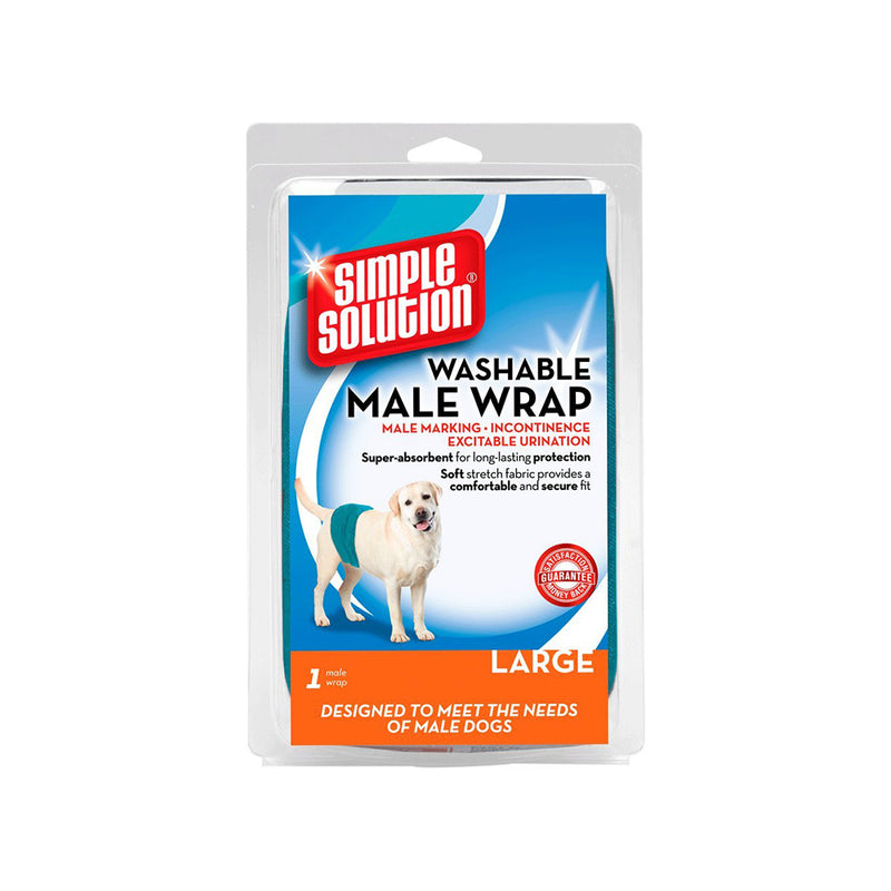 Washable Wraps Male, Large