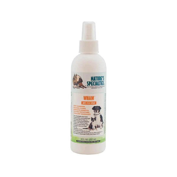 WHAM Anti-Itch Spray for Dogs & Cats, 8oz