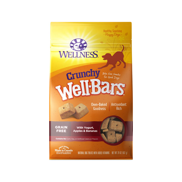 WellBars Yogurt, Apple & Banana, 20oz