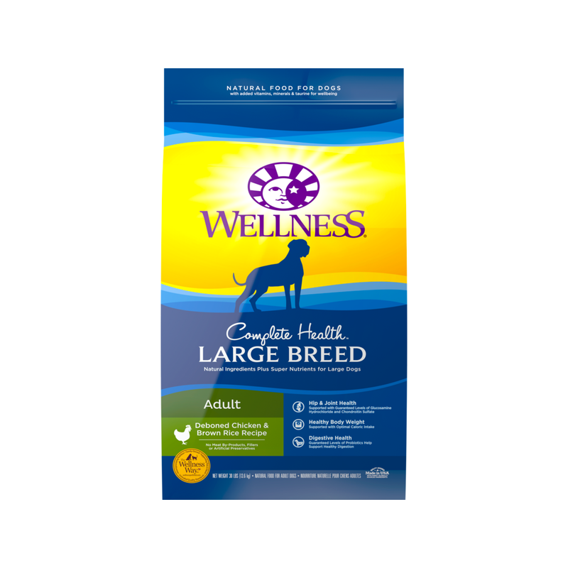Large Breed Adult Recipe, 30lb