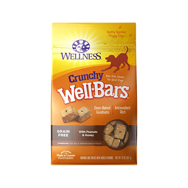 WellBars Peanut & Honey, 20oz
