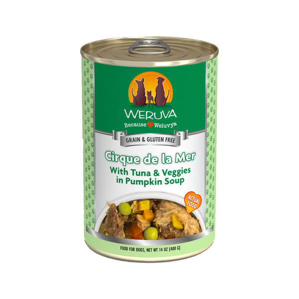 Dog - Cirque de la Mer w/ Tuna & Veggies in Pumpkin Soup, 14oz