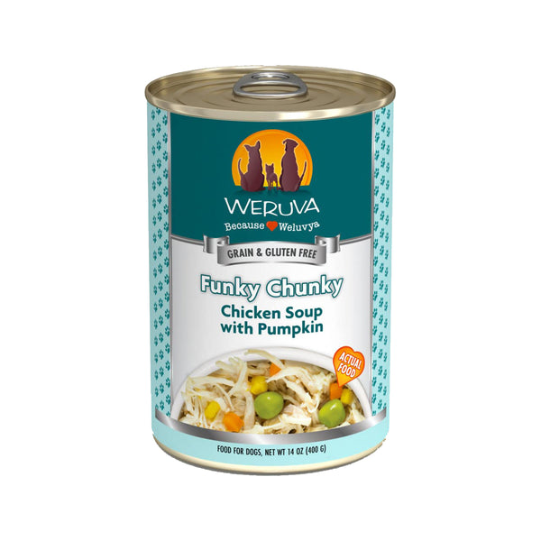 Dog - Funky Chunky Chicken Soup w/ Pumpkin, 14oz
