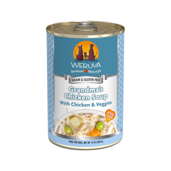 Dog - Grandma's Chicken Soup w/ Chicken & Veggies, 14oz