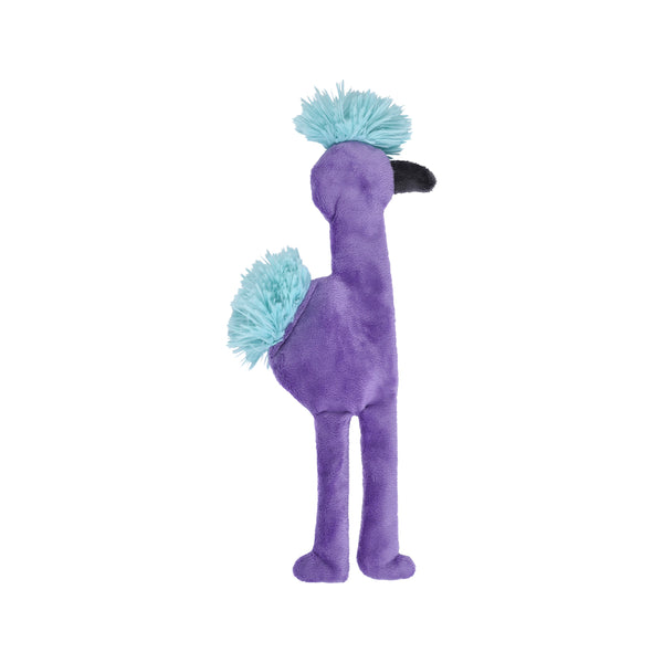 "Fuzzy Mingo Purple, Large 15.5""tall"