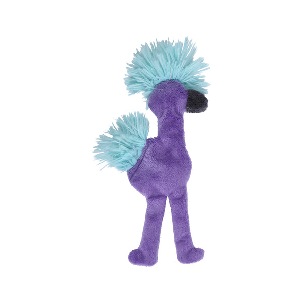 "Fuzzy Mingo Purple, Mini 8.5""tall"