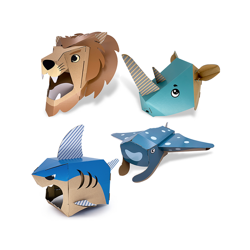 WonderHat - Set of 4 Animals