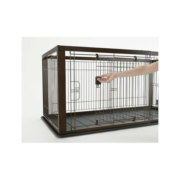 Wooden Extendable Cage (90-154)x79x70cm Brown