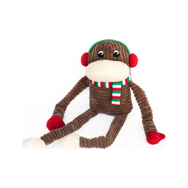 Holiday Crinkle Monkey, XLarge