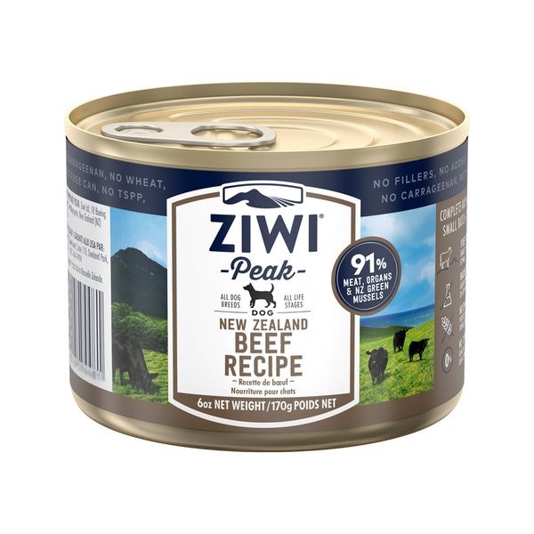 Moist Can Beef, 6oz