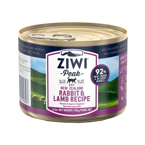 Feline Moist Rabbit & Lamb Can, 185g