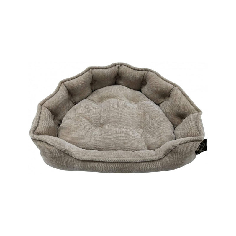 Adela Snuggle Burlap Bed Size : Small