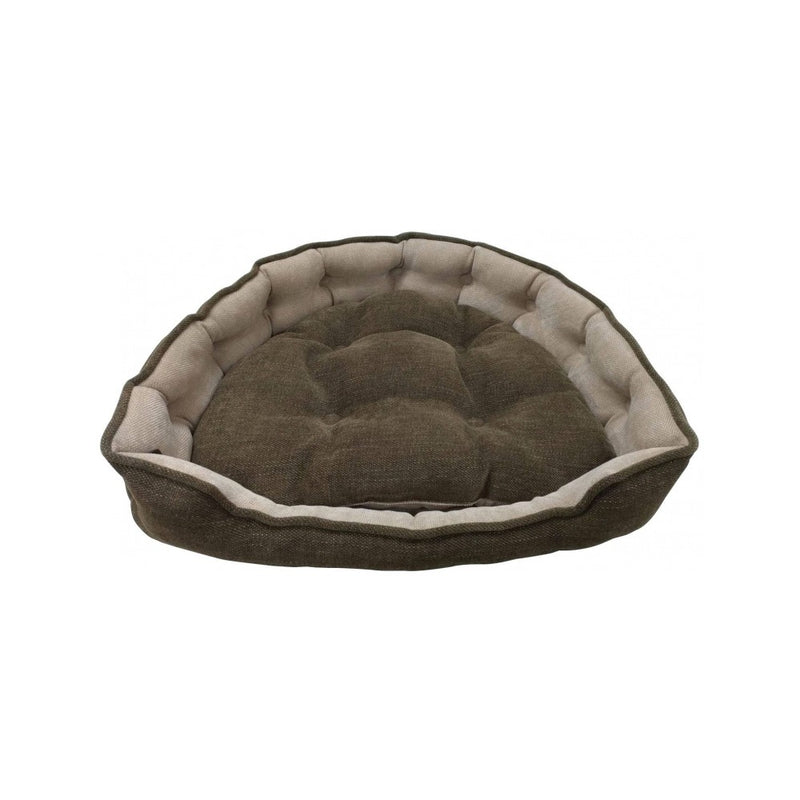 Adela Snuggle Coffee Bed Size : Small