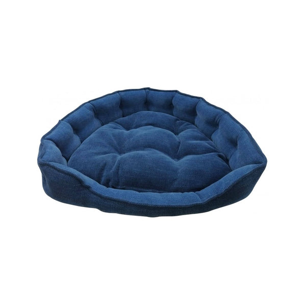 Adela Snuggle Denim Bed, Large