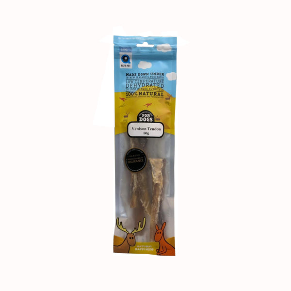Venison Tendons Treats, 80g