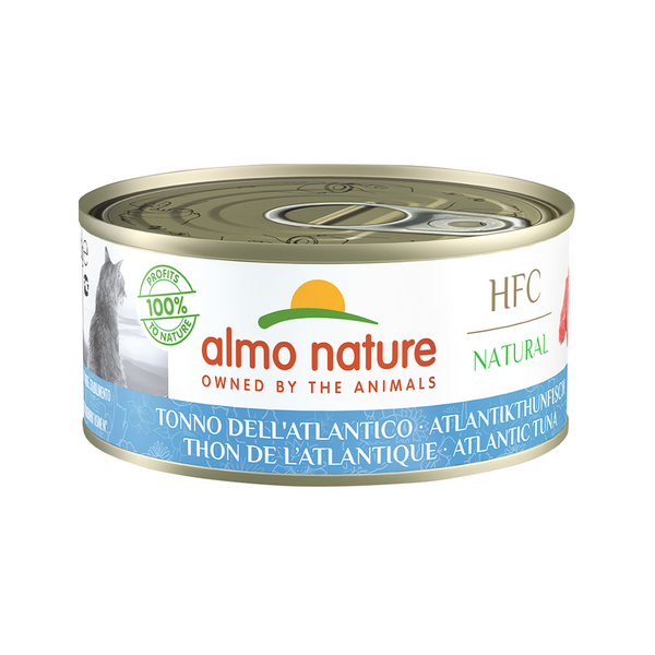 Natural - Atlantic Tuna Wet Cat Food, 150g