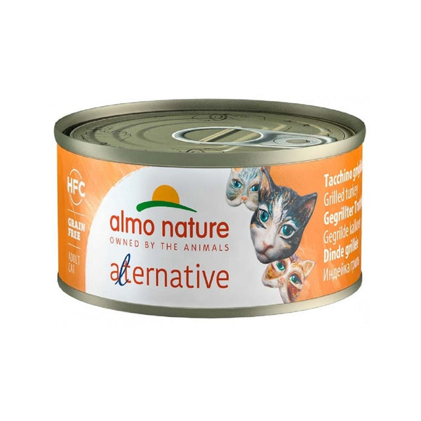 Alternative - Grilled Turkey Wet Cat Food, 70g