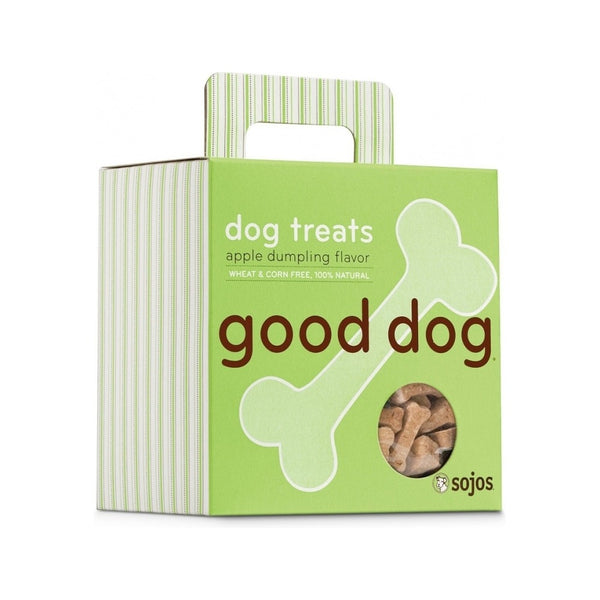 Hand-Baked Good Dog Snacks 8oz , flavor: Apple Dumpling