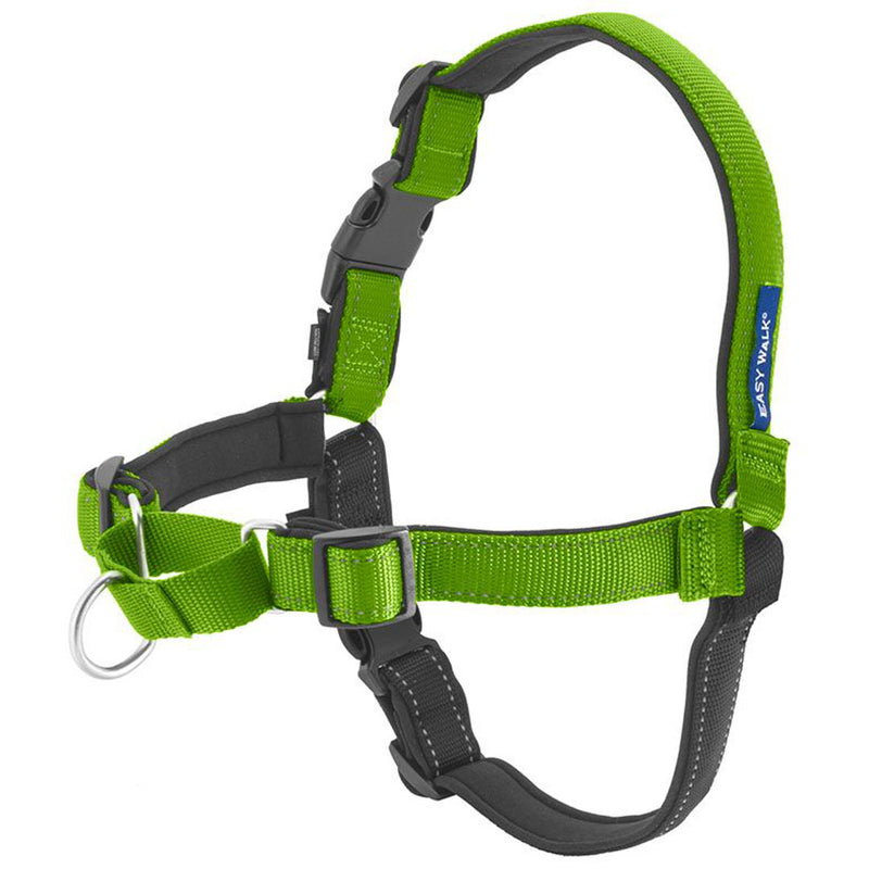 Deluxe Easy Walk Harness Color : Apple, Size : Large
