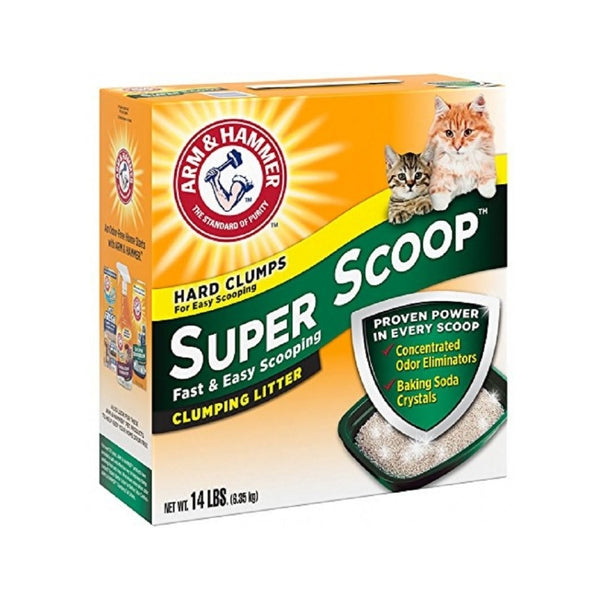 Super Scoop Scented Clumping Litter Weight : 14lb