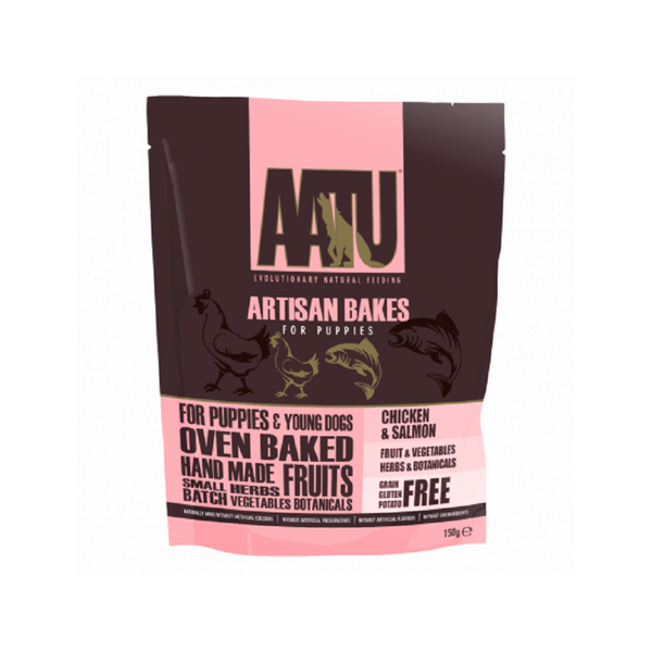 Artisan Bakes in Chicken & Salmon for Puppies Weight : 150g