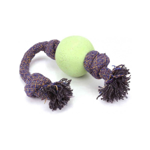 Beco Ball on a Rope, Color Green, Large