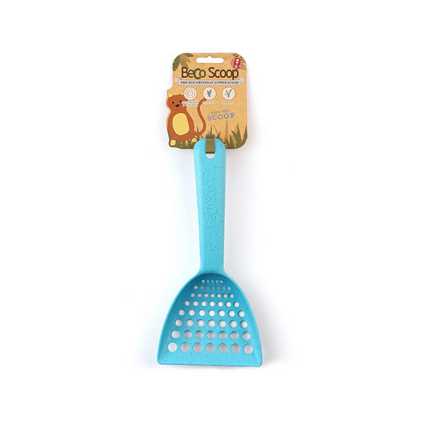 Eco-Friendly Litter Scoop, Color: Blue