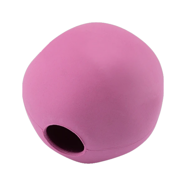 Natural Rubber Bouncy Ball Color : Pink Size : Medium