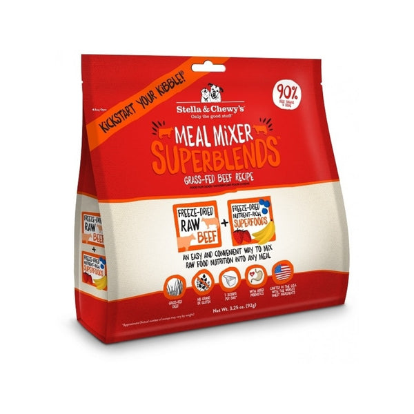 SuperBlends Freeze-Dried Meal Mixer Beef Weight : 3.5oz