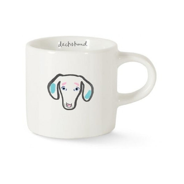 Bff Dachshund Mini Ceramic Mug