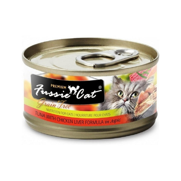Black Label Tuna w/ Chicken Liver, 80g