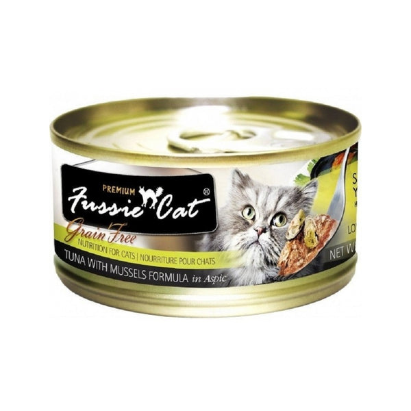 Black Label Tuna w/ Mussels, 80g