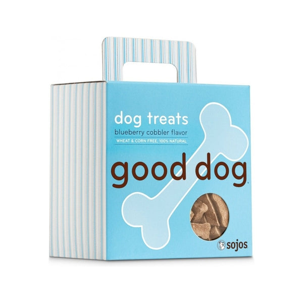 Hand-Baked Good Dog Snacks 8oz , flavor: Blueberry Cobbler