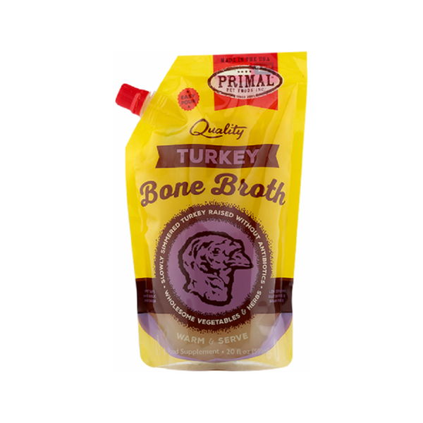 Turkey Bone Broth Pouch, 20oz (Frozen)