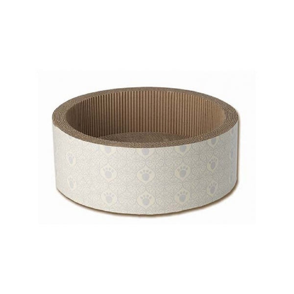 Boot's Cardboard Cat Scratcher Color : Taupe/Gray