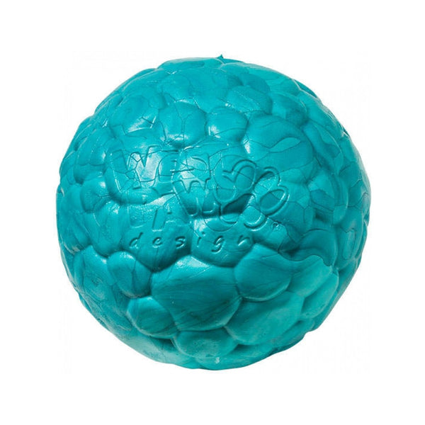 Boz Ball, Color Peacock Blue, Large 4""