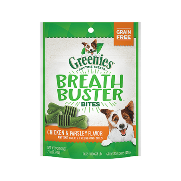 Breath Busters Bites, flavor: Chicken & Parsley, 11oz
