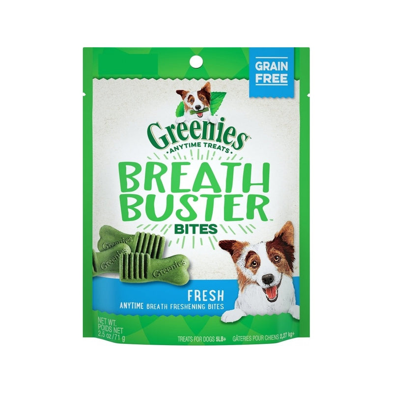 Breath Busters Bites, flavor: Fresh mint, 11oz