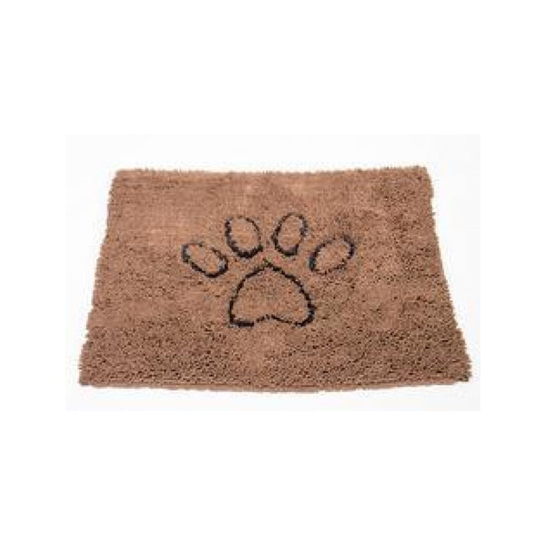 Dirty Dog Doormat Color : Brown Size : 31x20""