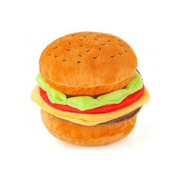 Barky Burger Plush Toy