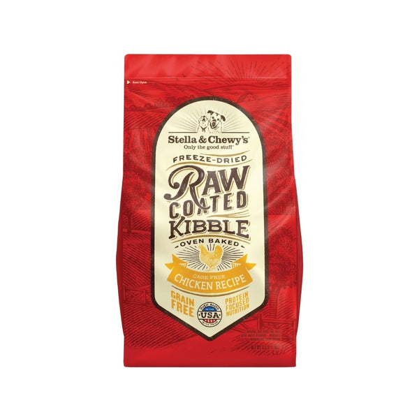 Cage-Free Chicken Raw Coated Kibble, 22lb
