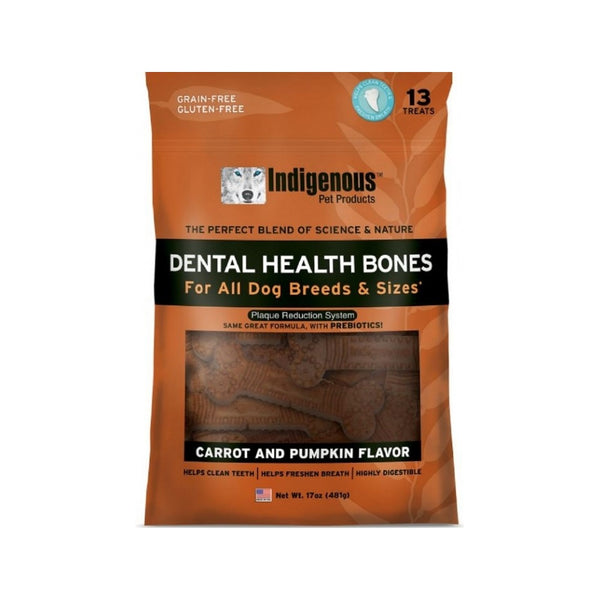 Dental Health Bone Carrot & Pumpkin, 13cts