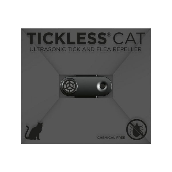 Feline Mini Rechargeable Repeller, Color: Jet Black