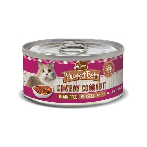 Feline Morsel Cowboy Cookout Weight : 3oz