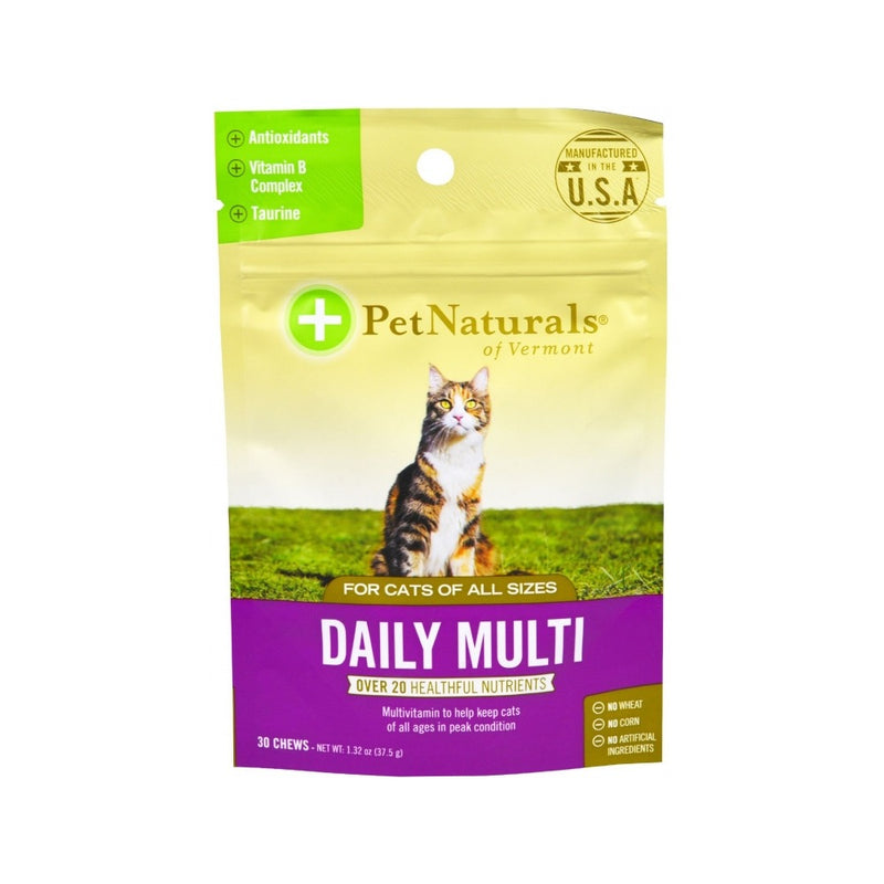 Daily Multi for Cats Soft Chews : 30 Counts